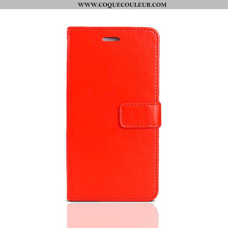 Étui Huawei P30 Lite Xl Protection Rouge Téléphone Portable, Coque Huawei P30 Lite Xl Cuir Tout Comp
