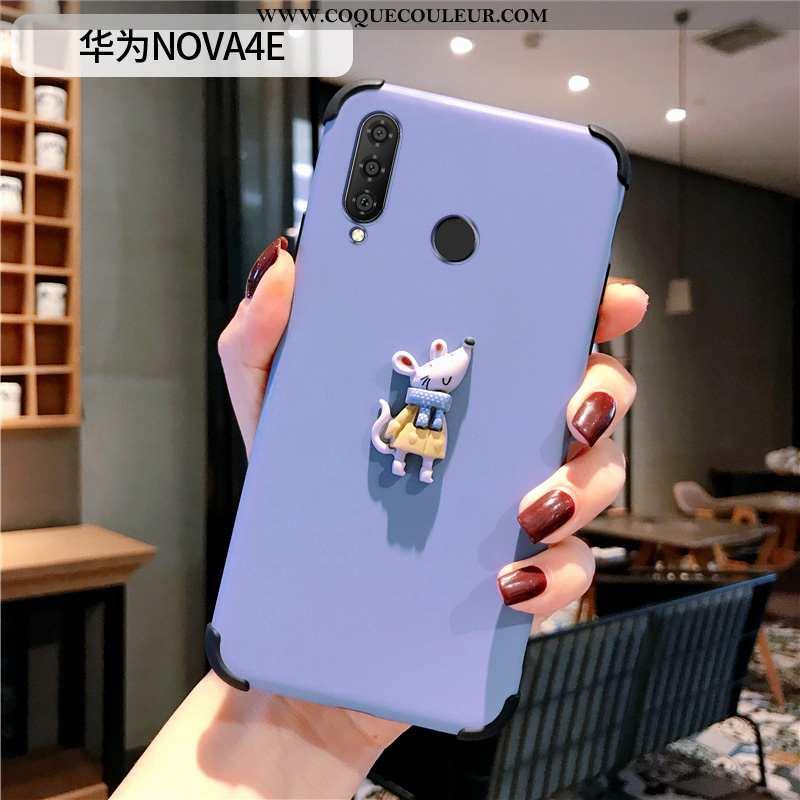 Housse Huawei P30 Lite Xl Protection Dessin Animé Petit, Étui Huawei P30 Lite Xl Personnalité Simple