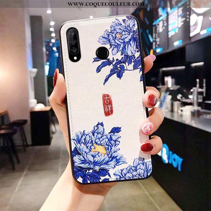 Housse Huawei P30 Lite Xl Modèle Fleurie Tendance Tout Compris, Étui Huawei P30 Lite Xl Fluide Doux