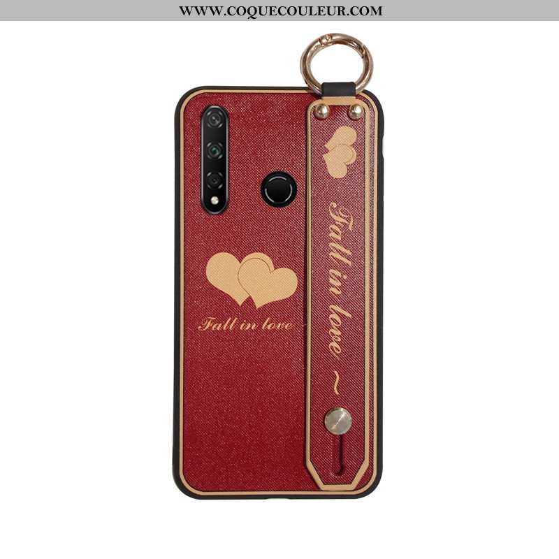 Coque Huawei P30 Lite Xl Silicone Vin Rouge Ornements Suspendus, Housse Huawei P30 Lite Xl Protectio