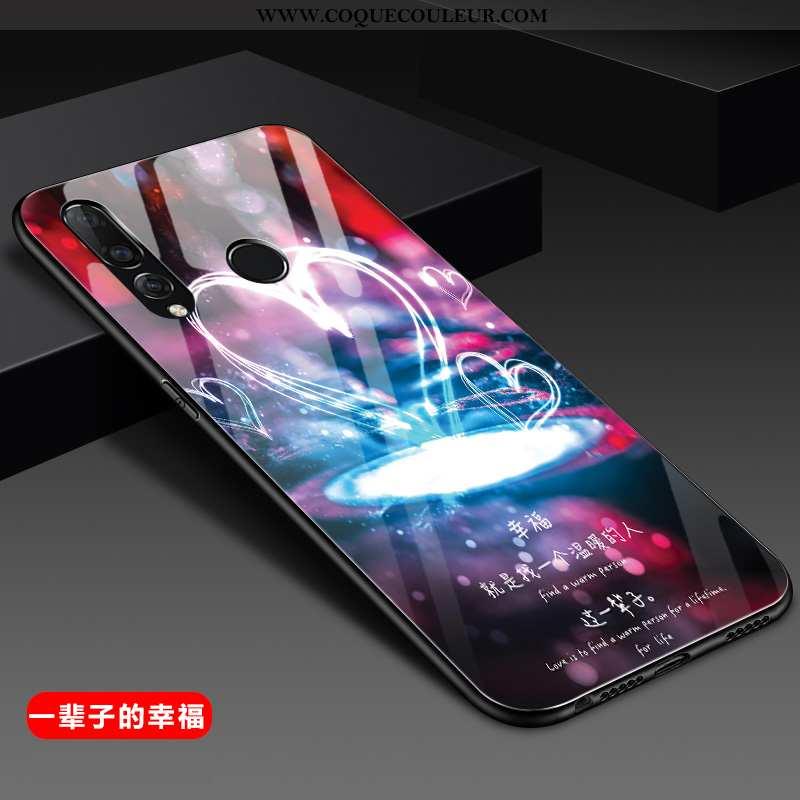 Housse Huawei P30 Lite Xl Créatif Étui Silicone, Huawei P30 Lite Xl Tendance Incassable Violet