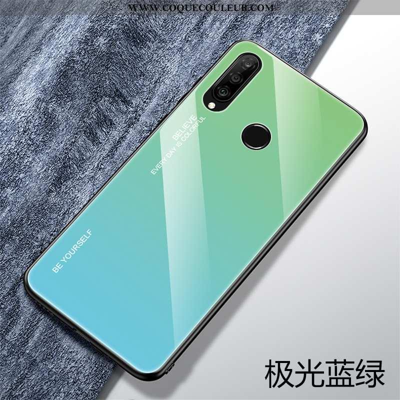 Housse Huawei P30 Lite Xl Personnalité Verre Silicone, Étui Huawei P30 Lite Xl Créatif Protection Ve