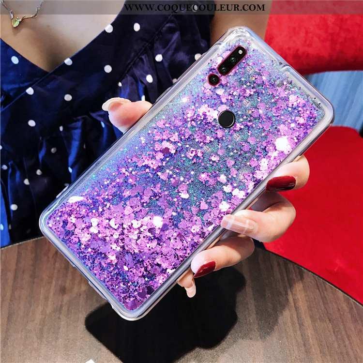 Coque Huawei P30 Lite Xl Téléphone Portable Quicksand Étui, Housse Huawei P30 Lite Xl Violet