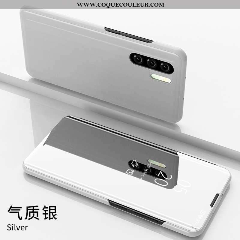Housse Huawei P30 Pro Silicone Coque Étui, Étui Huawei P30 Pro Protection Argent