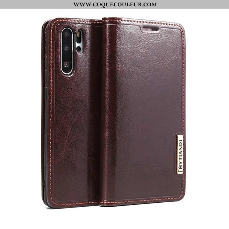 Housse Huawei P30 Pro Cuir Coque Tout Compris, Étui Huawei P30 Pro Fluide Doux Téléphone Portable Ma