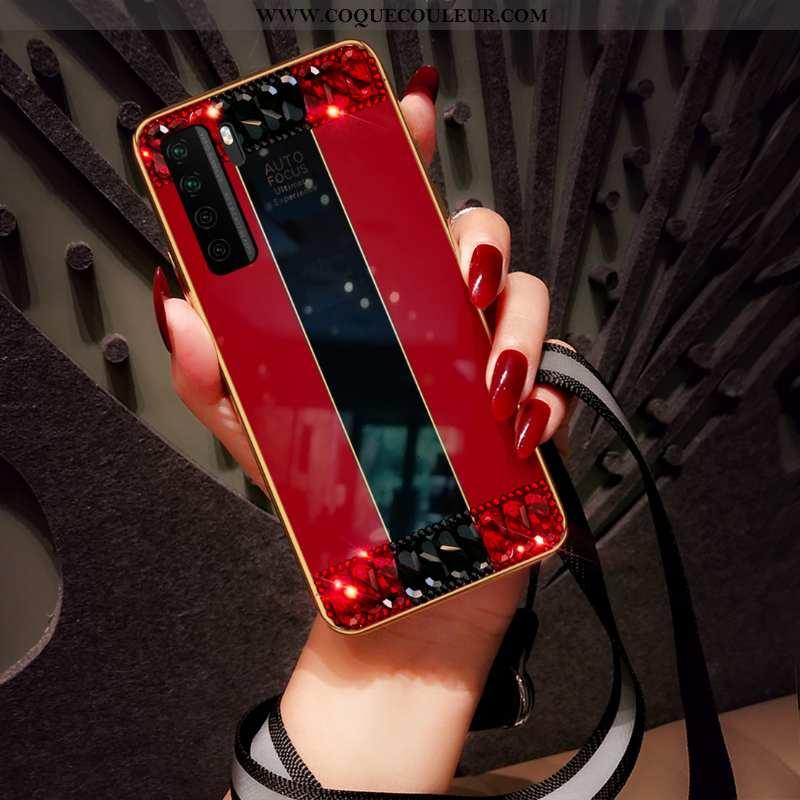 Étui Huawei P40 Lite 5g Tendance Coque Ornements Suspendus, Huawei P40 Lite 5g Fluide Doux Mode Roug