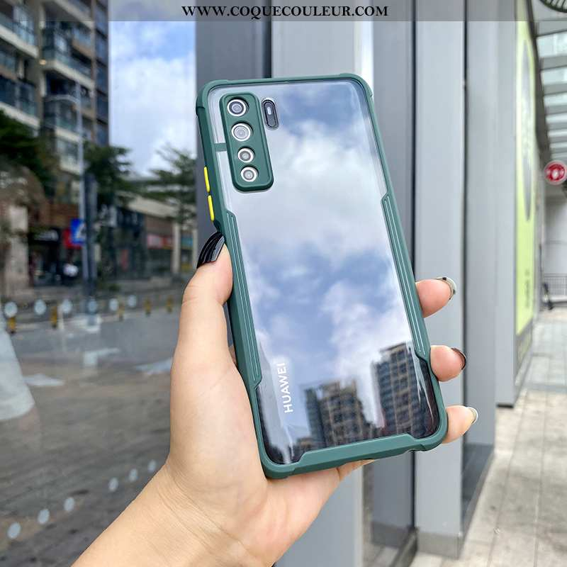 Étui Huawei P40 Lite 5g Tendance Vert Téléphone Portable, Coque Huawei P40 Lite 5g Silicone Incassab