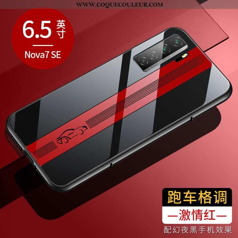 Housse Huawei P40 Lite 5g Légère Étui Élégant, Huawei P40 Lite 5g Protection Incassable Rouge