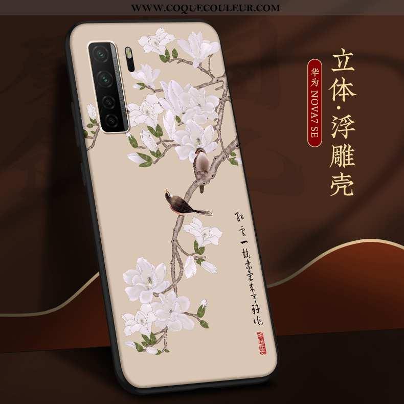Housse Huawei P40 Lite 5g Tendance Nouveau Ultra, Étui Huawei P40 Lite 5g Légère Incassable Beige
