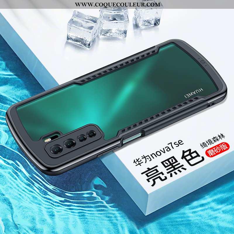 Coque Huawei P40 Lite 5g Tendance Net Rouge Tout Compris, Housse Huawei P40 Lite 5g En Silicone Noir