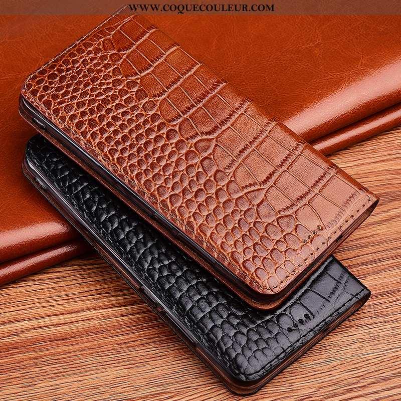 Housse Huawei P40 Lite Fluide Doux Incassable Modèle Fleurie, Étui Huawei P40 Lite Silicone Marron