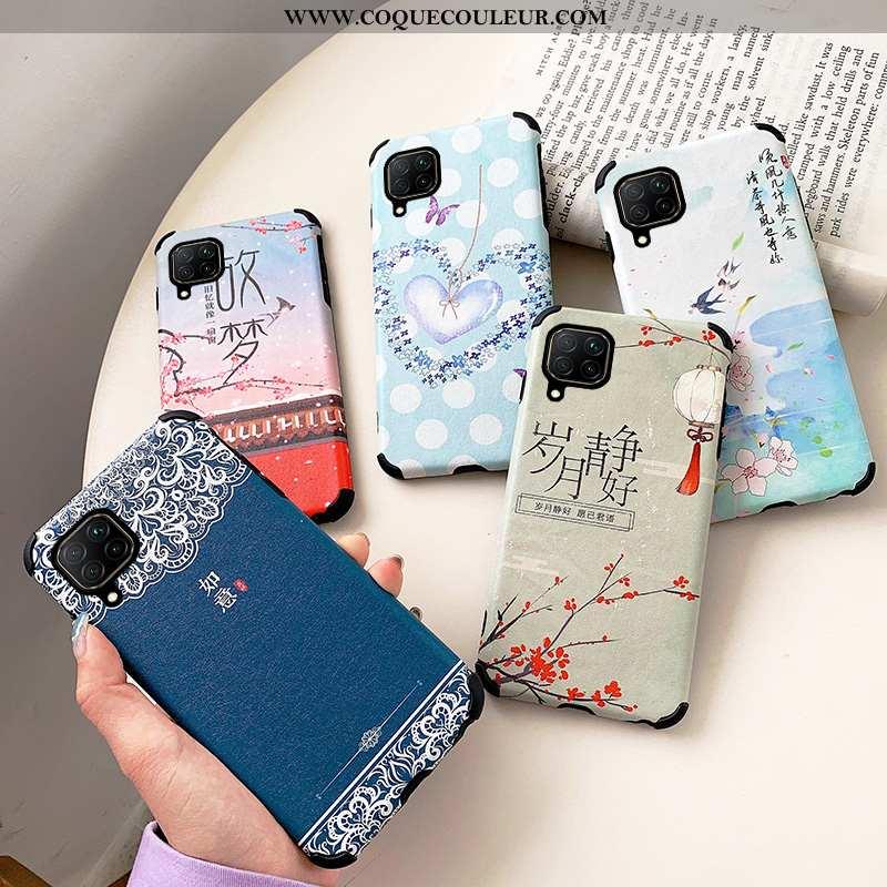 Étui Huawei P40 Lite Dessin Animé Net Rouge Téléphone Portable, Coque Huawei P40 Lite Fluide Doux Si