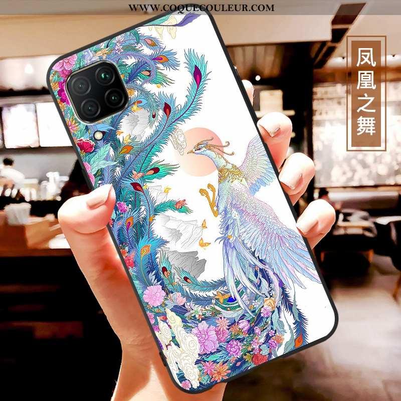 Étui Huawei P40 Lite Fluide Doux Tout Compris Téléphone Portable, Coque Huawei P40 Lite Protection B