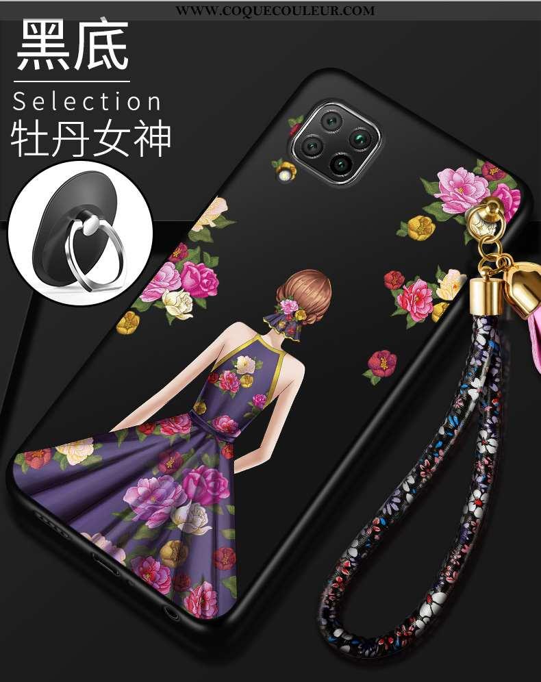 Étui Huawei P40 Lite Légère Protection Légères, Coque Huawei P40 Lite Fluide Doux Incassable Violet