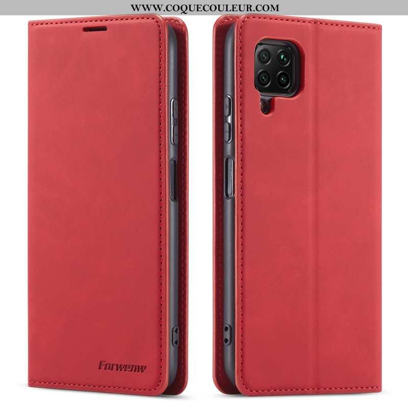 Coque Huawei P40 Lite Protection Business Téléphone Portable, Housse Huawei P40 Lite Cuir Véritable