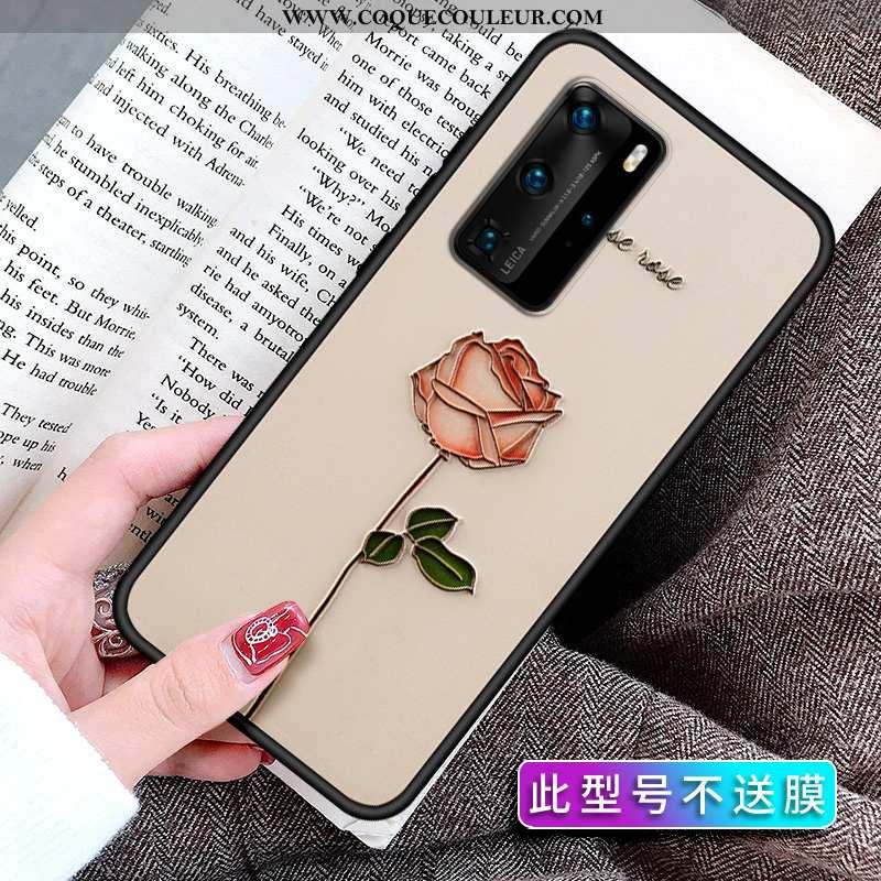 Étui Huawei P40 Pro Personnalité Incassable Délavé En Daim, Coque Huawei P40 Pro Créatif Tendance Be