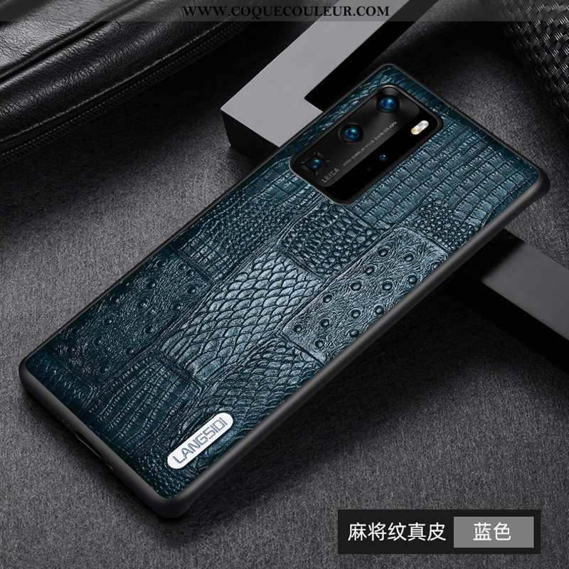 Étui Huawei P40 Pro Modèle Fleurie Incassable Téléphone Portable, Coque Huawei P40 Pro Mode Tout Com