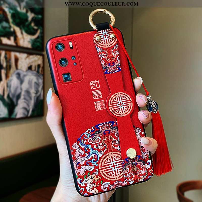 Étui Huawei P40 Pro Protection Tout Compris Rouge, Coque Huawei P40 Pro Ultra Légère Rouge