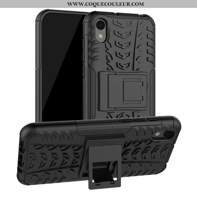 Étui Huawei Y5 2020 Protection Incassable Tout Compris, Coque Huawei Y5 2020 Noir