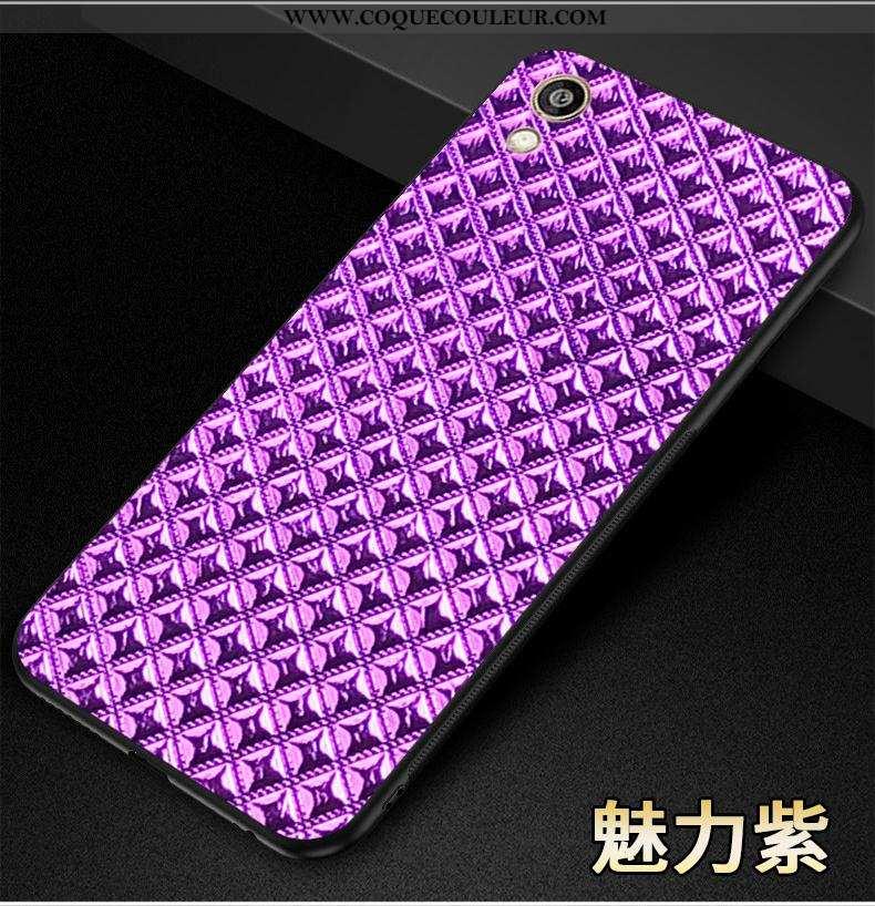 Étui Huawei Y5 2020 Protection Téléphone Portable Étui, Coque Huawei Y5 2020 Silicone Violet