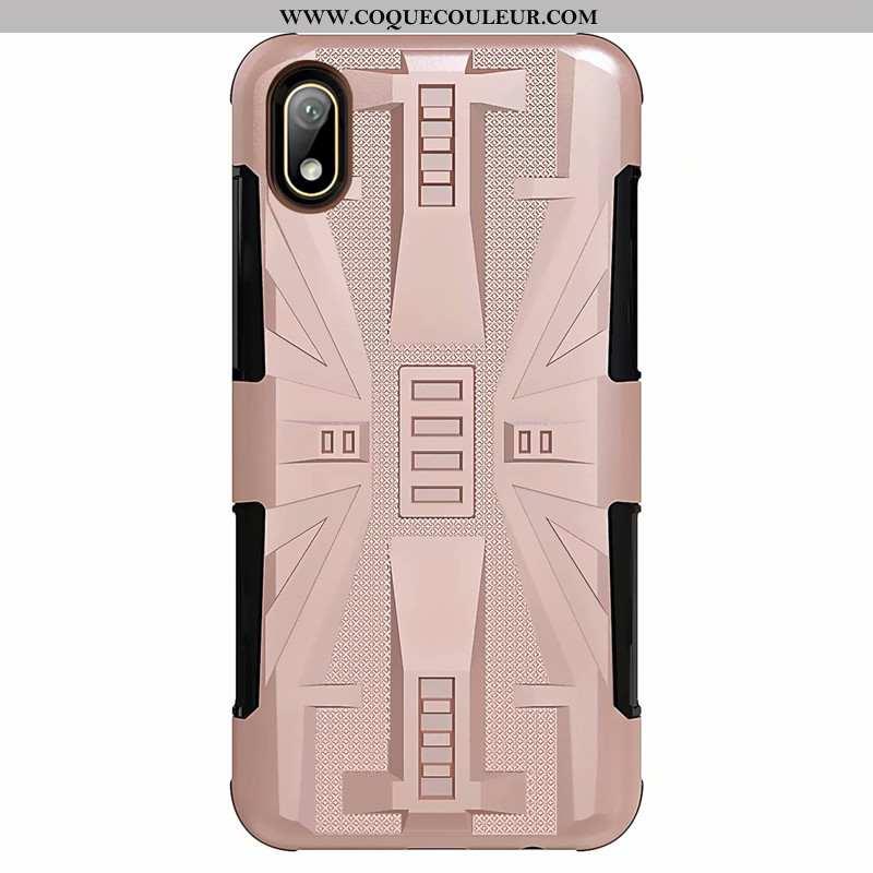 Coque Huawei Y5 2020 Difficile Téléphone Portable, Housse Huawei Y5 2020 Incassable Rose
