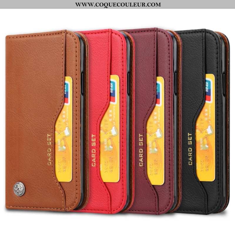 Étui Huawei Y5 2020 Protection Téléphone Portable Étui, Coque Huawei Y5 2020 Portefeuille Chaud Marr