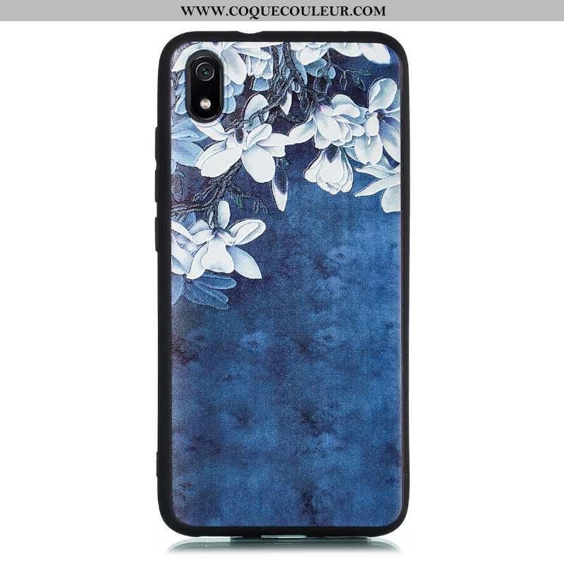 Étui Huawei Y5 2020 Dessin Animé Délavé En Daim Téléphone Portable, Coque Huawei Y5 2020 Ultra Tout