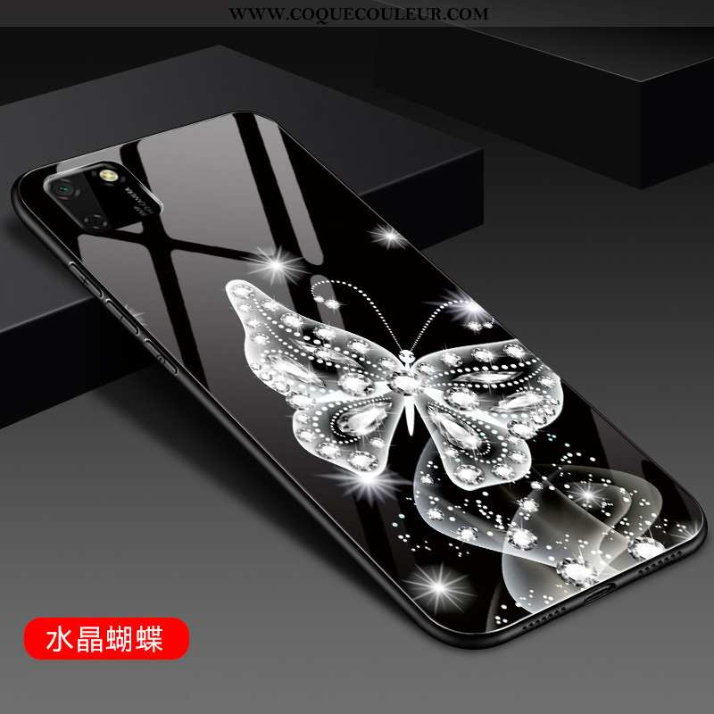 Étui Huawei Y5p Légère Ultra Personnalité, Coque Huawei Y5p Mode Tout Compris Noir