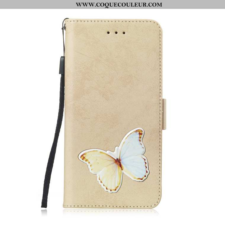 Housse Huawei Y6 2020 Protection Téléphone Portable, Étui Huawei Y6 2020 Charmant Jaune