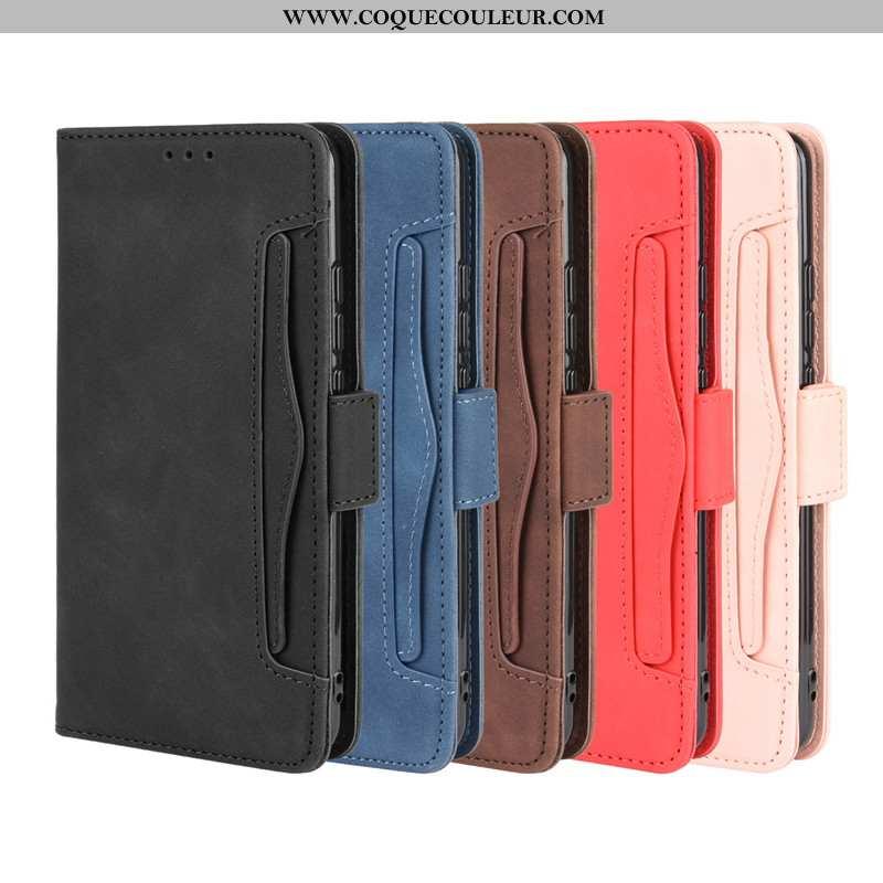 Housse Huawei Y6p Protection Noir Téléphone Portable, Étui Huawei Y6p Cuir