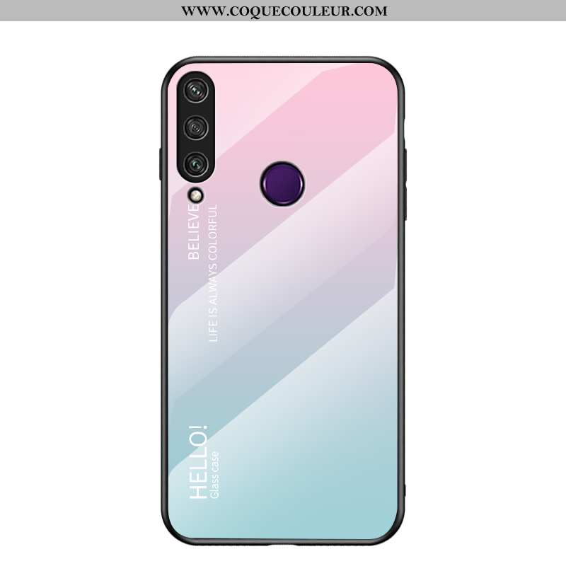 Coque Huawei Y6p Silicone Nouveau Incassable, Housse Huawei Y6p Mode Fluide Doux Coloré