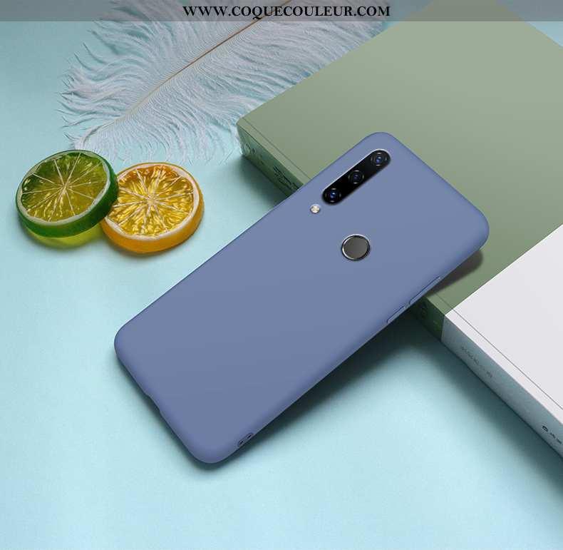 Housse Huawei Y6p Protection Vent Net Rouge, Étui Huawei Y6p Personnalité Ultra Bleu