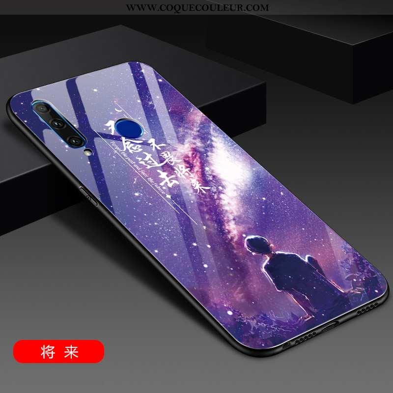 Coque Huawei Y6p Tendance Ultra Coque, Housse Huawei Y6p Légère Protection Violet