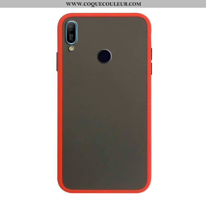 Étui Huawei Y6s Protection Incassable Rouge, Coque Huawei Y6s En Silicone Rouge