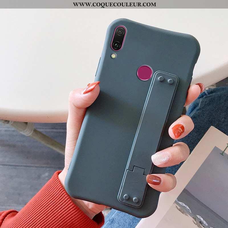 Coque Huawei Y7 2020 Silicone Tout Compris 2020, Housse Huawei Y7 2020 Protection Tendance Bleu Fonc
