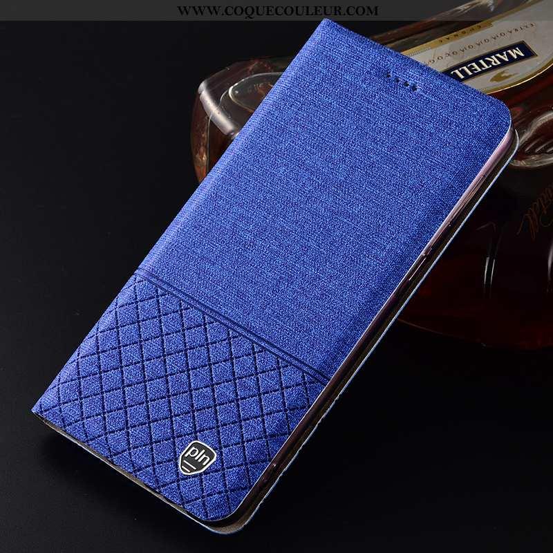 Coque Lg G6 Cuir Bleu Étui, Housse Lg G6 Protection Tout Compris
