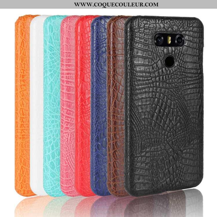 Housse Lg G6 Modèle Fleurie Téléphone Portable Étui, Étui Lg G6 Protection Noir