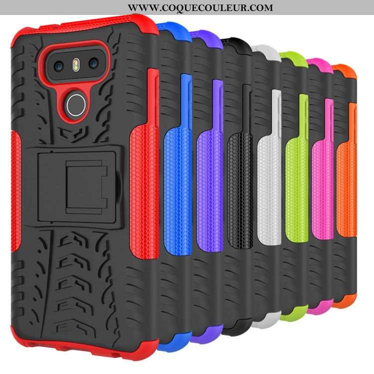 Housse Lg G6 Protection Modèle Fleurie Coque, Étui Lg G6 Créatif Téléphone Portable Noir