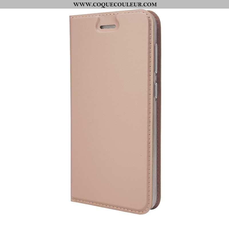 Étui Lg G7 Thinq Légère Incassable Téléphone Portable, Coque Lg G7 Thinq Cuir Rose