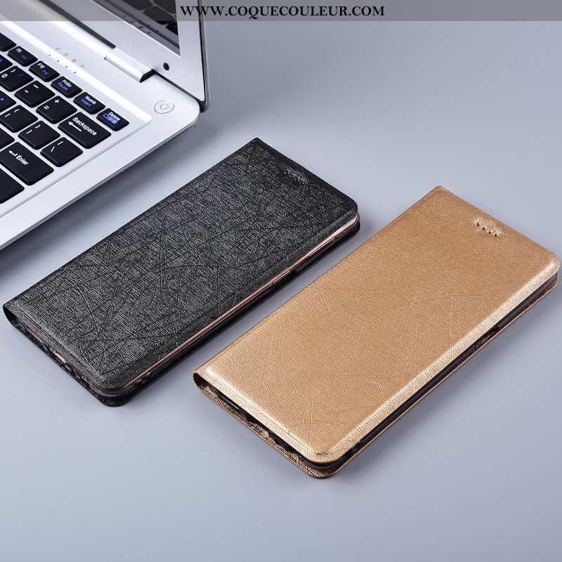 Étui Lg K11 Cuir Téléphone Portable Protection, Coque Lg K11 Modèle Fleurie Incassable Noir