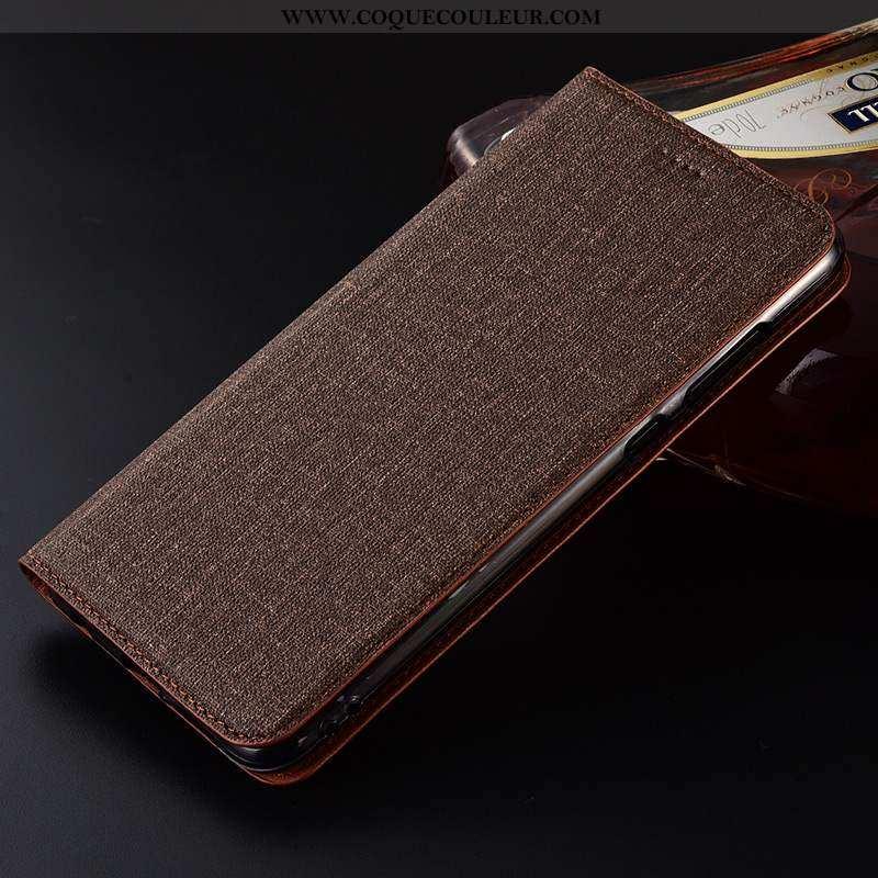 Housse Lg K11 Silicone Cuir Incassable, Étui Lg K11 Protection Téléphone Portable Marron