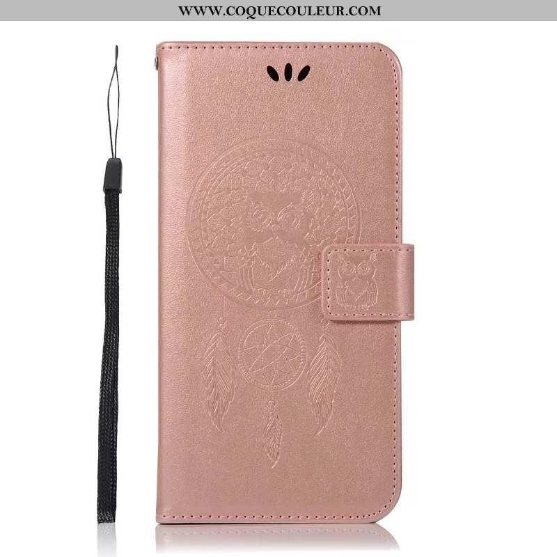 Coque Lg Q6 Fluide Doux Téléphone Portable Rose, Housse Lg Q6 Protection Carte Rose