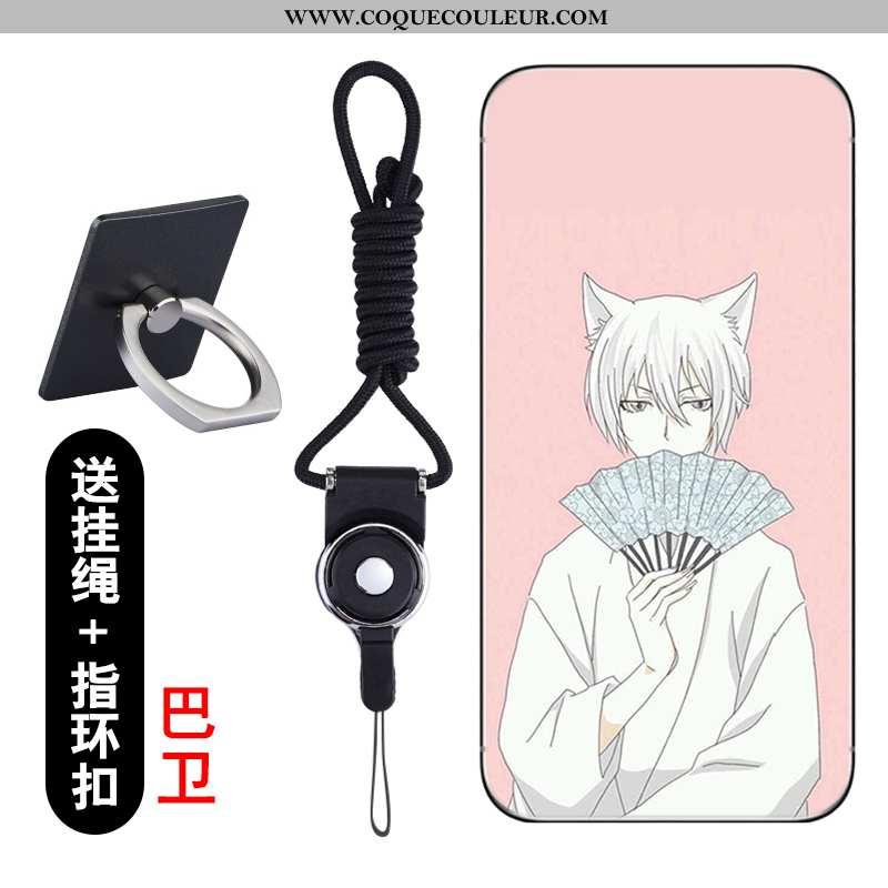Coque Lg Q6 Silicone Téléphone Portable Dessin Animé, Housse Lg Q6 Protection Rose