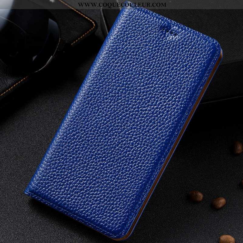 Étui Lg Q6 Modèle Fleurie Téléphone Portable Housse, Coque Lg Q6 Protection Tout Compris Bleu