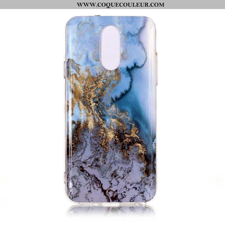 Étui Lg Q7 Protection Téléphone Portable Vent, Coque Lg Q7 Bleu