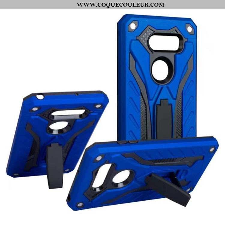 Housse Lg V30 Protection Incassable Faire Du Vélo, Étui Lg V30 Support Vent Bleu