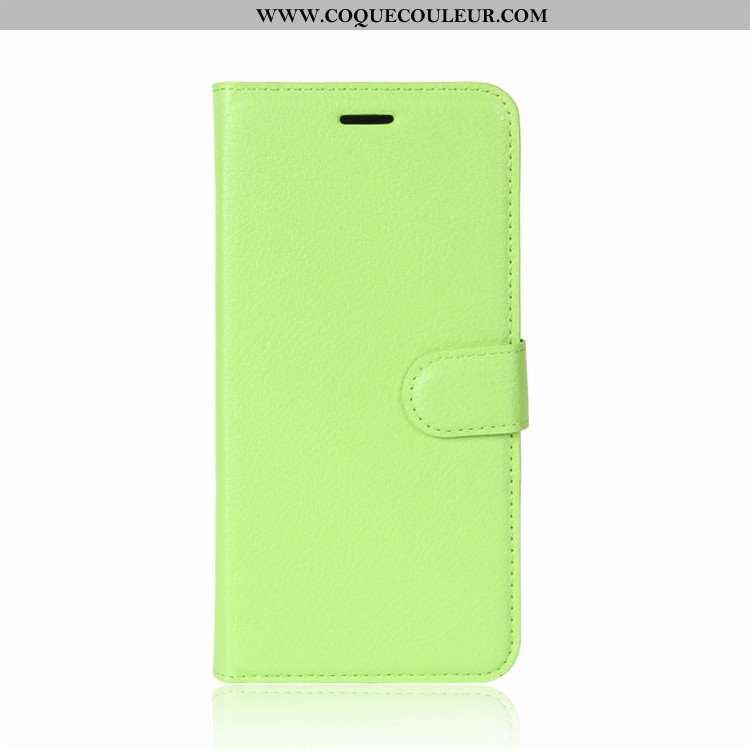 Coque Lg V30 Portefeuille Protection Housse, Housse Lg V30 Cuir Téléphone Portable Verte