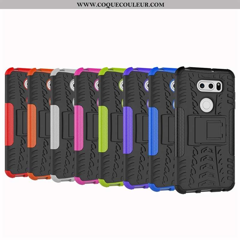 Étui Lg V30 Protection Noir Étui, Coque Lg V30 Créatif Silicone