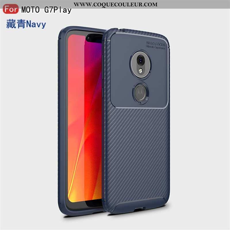 Housse Moto G7 Play Tendance Créatif Téléphone Portable, Étui Moto G7 Play Fluide Doux Personnalité