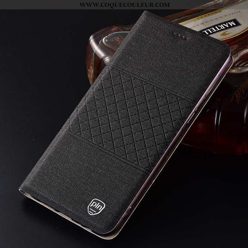 Coque Moto G7 Power Protection Lin Housse, Housse Moto G7 Power Tout Compris Noir